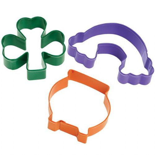 3 Pc. St Patrick's Day Cookie Cutter Set